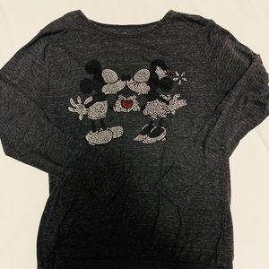Disney Parks Sweatshirt Mickey and Minnie